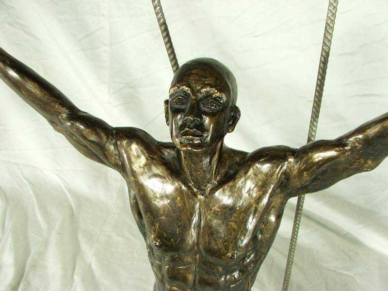 crucifixion_portrait-sculpture