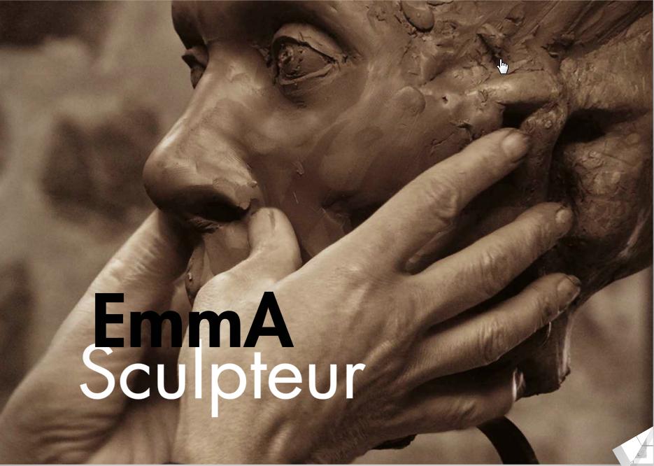 Emma sculpteur, le livre